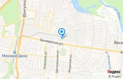 Местоположение на карте пункта техосмотра по адресу г Оренбург, ул Беляевская, д 30