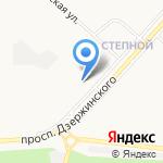 Магазин отделочных материалов на карте Оренбурга