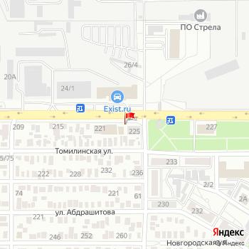 г. Оренбург, ул. Шевченко,223А на карта