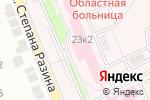 Схема проезда до компании Оренбургская областная клиническая больница в Оренбурге