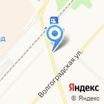 ОРЕНОЙЛ на карте Оренбурга