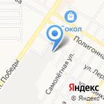 Mobil на карте Оренбурга