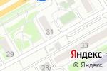 Схема проезда до компании Киоск по продаже фруктов и овощей в Оренбурге