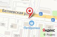 Схема проезда до компании ЧестноДеньги в Весеннем