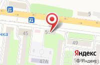 Схема проезда до компании СанТехМаг в Весеннем