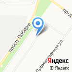 ИЮЛЬ-2000 на карте Оренбурга