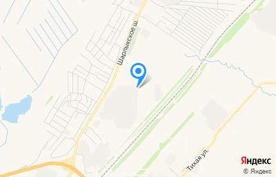 Местоположение на карте пункта техосмотра по адресу г Оренбург, ш Шарлыкское, д 34