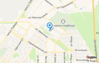 Местоположение на карте пункта техосмотра по адресу г Оренбург, ул Лесозащитная, д 20