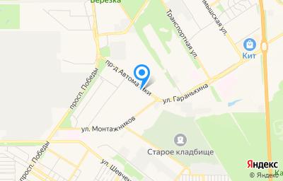 Местоположение на карте пункта техосмотра по адресу г Оренбург, проезд Автоматики, д 13
