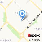 Детский сад №35 на карте Оренбурга