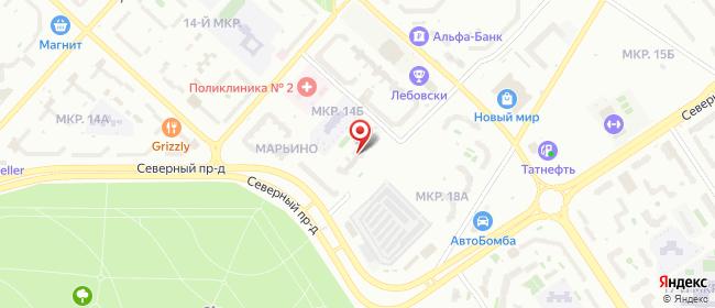 Карта расположения пункта доставки Оренбург Липовая в городе Оренбург