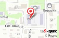 Схема проезда до компании Ключ в Киржаче