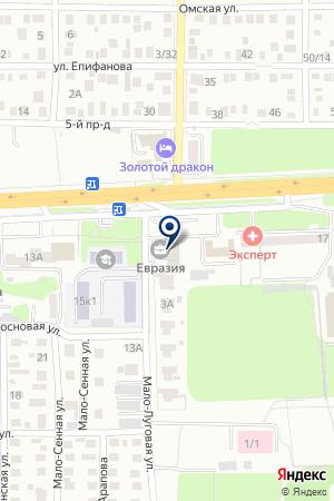 RUGLONASS на карте Оренбурга