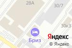 Схема проезда до компании Леший в Оренбурге