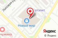 Схема проезда до компании Дайы - Ма в Оренбурге