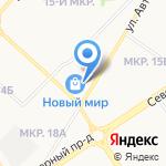 Банкомат на карте Оренбурга