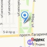 Русское подворье на карте Оренбурга