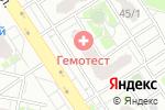Схема проезда до компании ТОП-СЕРВИС в Оренбурге