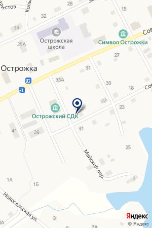 ОСТРОЖСКИЙ ЦЕНТР ДОСУГА на карте Оханска