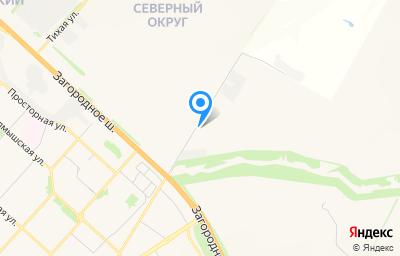 Местоположение на карте пункта техосмотра по адресу г Оренбург, ул Автомобилистов, д 25