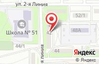 Схема проезда до компании Гермаст Плюс в Оренбурге
