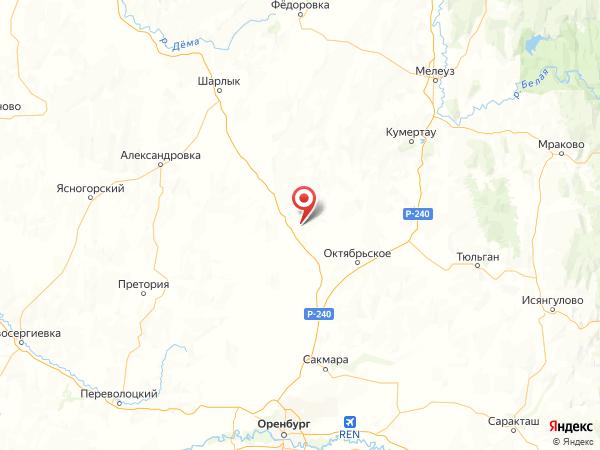 хутор Красный Пахарь на карте