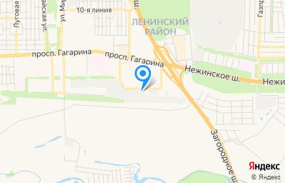 Местоположение на карте пункта техосмотра по адресу г Оренбург, пр-кт Гагарина, влд 43/6