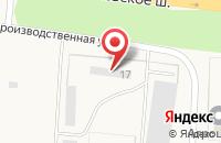 Схема проезда до компании Теллур в Ивановке
