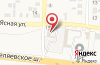 Схема проезда до компании ЛиМарк в Ивановке