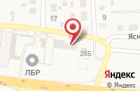 Схема проезда до компании Ивановские сладости в Ивановке