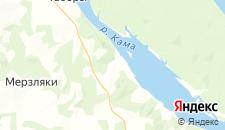 Отели города Першино на карте