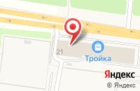 Схема проезда до компании Диантус в Ивановке