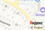 Схема проезда до компании Экодолька в Ивановке