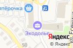 Схема проезда до компании Экодолье Оренбург в Ивановке