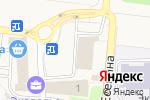 Схема проезда до компании Крепмаркет в Ивановке