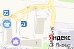 Схема проезда до компании Почтовое отделение в Ивановке