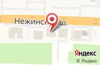 Схема проезда до компании ТВС Моторс в Пригородном