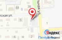 Схема проезда до компании Оренбургское казачье войско в Пригородном