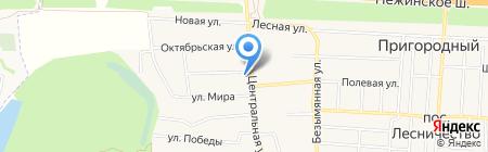 Оренбургское казачье войско на карте Аэропорта