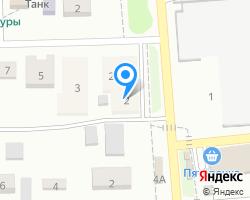 Схема местоположения почтового отделения 460507
