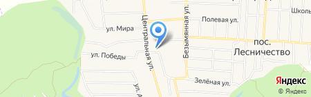 Средняя общеобразовательная школа №1 на карте Аэропорта