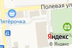 Схема проезда до компании Олимпиец в Пригородном