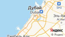 Отели города Дубай на карте