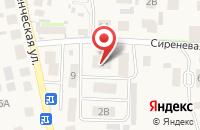 Схема проезда до компании Адвокатский кабинет Глебовой Ю.И. в Пригородном