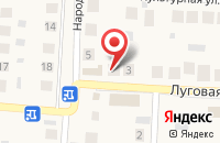 Схема проезда до компании Красное & Белое в Пригородном