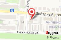 Схема проезда до компании АПЕЛЬСИН в Пригородном