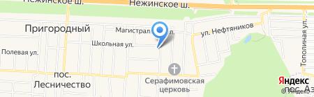 Сеть салонов красоты Галины Нучевой на карте Аэропорта