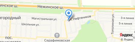 Врачебная амбулатория пос. Пригородный на карте Аэропорта