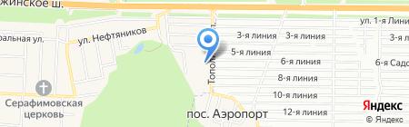СДЮСШОР №1 им. Н.С. Гейтца на карте Аэропорта