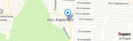 Скворушка на карте Аэропорта